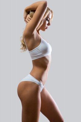 Carta da parati fitness donna