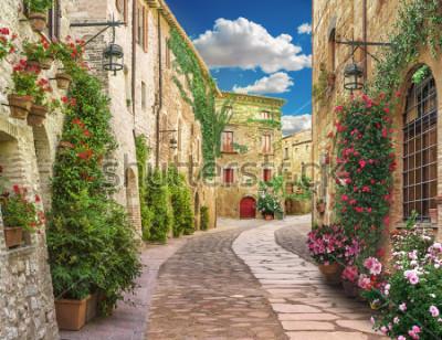 Carta da parati Flolar, old Italy street