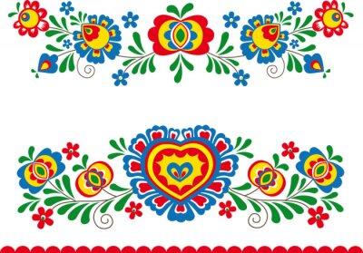Carta da parati Folk ornaments