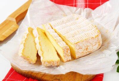 Carta da parati formaggio a crosta lavata Francese