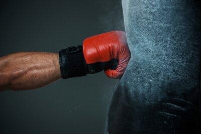 Carta da parati Formazione Boxing e sacchetto di perforazione