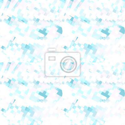 Forme Geometriche Astratte Sfondo Azzurro Rosa E Bianco Pattern