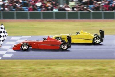Carta da parati Formula 1 al traguardo
