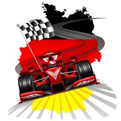 Carta da parati Formula 1 GP Germania