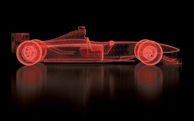 Carta da parati Formula One Mesh