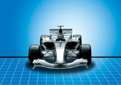 Carta da parati formula uno, il concetto di velocità
