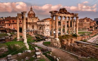 Carta da parati Foro Romano, Roma