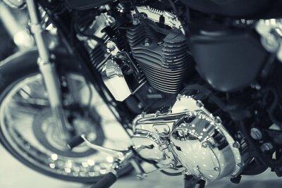 Carta da parati frammento di un motociclo