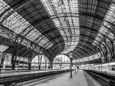 Carta da parati Francia Stazione, Barcellona