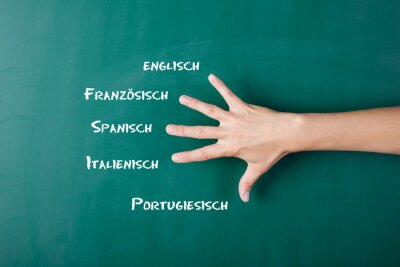 Carta da parati Fremdsprachen