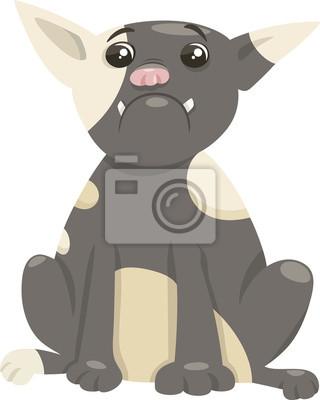 French bulldog cane cartone animato carta da parati u2022 carte da