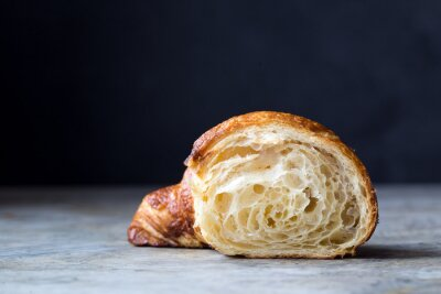 Carta da parati Fresh croissant appena sfornati