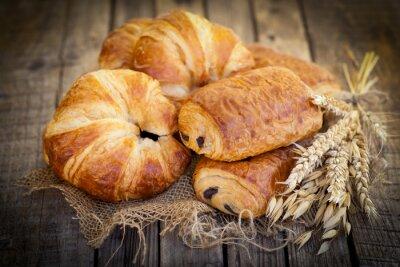Carta da parati Frische croissant