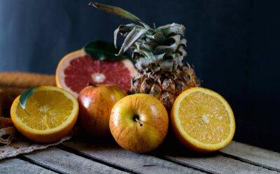 Carta da parati Frutta sul tavolo