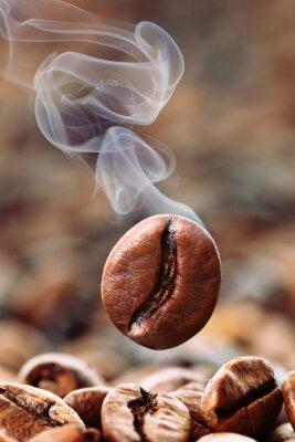Carta da parati fumante Coffee Bean