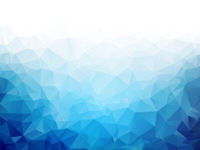 Carta da parati Geometrica blu ghiaccio texture di sfondo