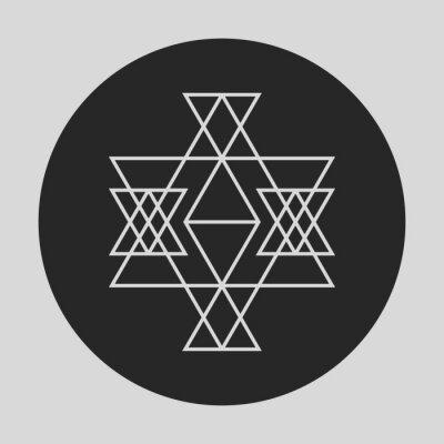 Carta da parati Geometrico elemento grafico