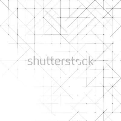 Carta da parati Geometrico semplice sfondo minimalista. Modello punteggiato di triangoli. Illustrazione vettoriale