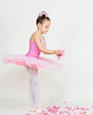 Carta da parati giovane ballerina