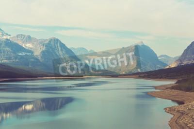 Carta da parati Glacier National Park, Montana, Stati Uniti d'America