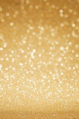 Carta da parati Glitter dorato astratto