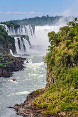 Carta da parati Gola del Diavolo, Cascate di Iguazu, Argentina