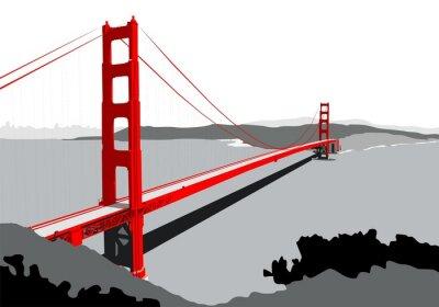 Carta da parati Golden Gate Bridge