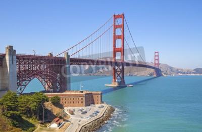 Carta da parati Golden Gate Bridge a San Francisco, Stati Uniti d'America.