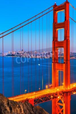 Carta da parati Golden Gate Bridge, San Francisco, California, USA.