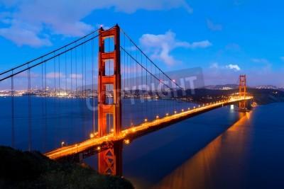 Carta da parati Golden Gate, San Francisco in California