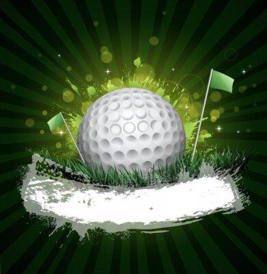 Carta da parati golf bandiera