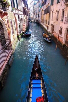 Carta da parati Gondola sul canale a Venezia, Italia