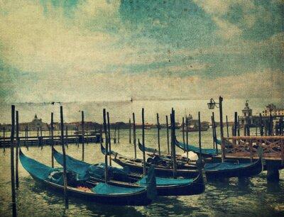 Carta da parati Gondola. Venezia