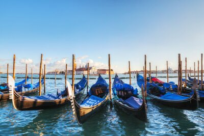 Carta da parati Gondole galleggianti in Canal Grande