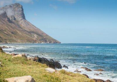 Carta da parati Gordon Bay Sud Africa strada di montagna costiera