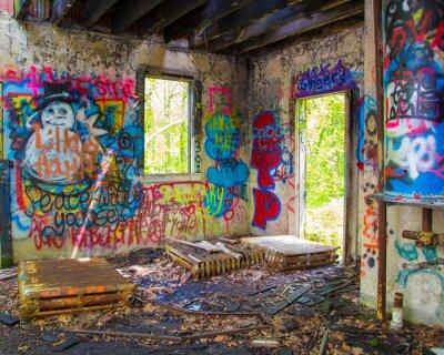 Carta da parati Graffit Abbandonato