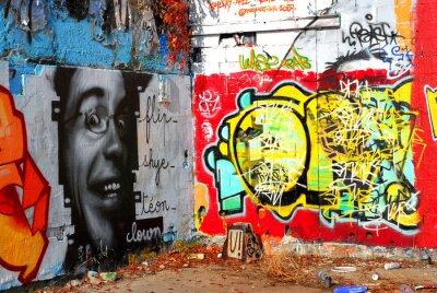 Carta da parati graffiti: Background