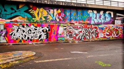 Carta da parati Graffitti parete