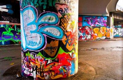 Carta da parati Graffitti Wall