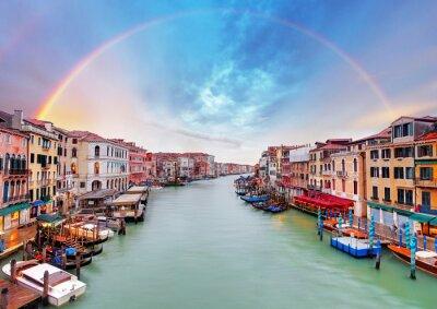 Carta da parati Grand Canal - Venice from Rialto bridge