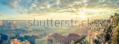 Carta da parati Grand Canyon et sunrise, Stati Uniti d'America.