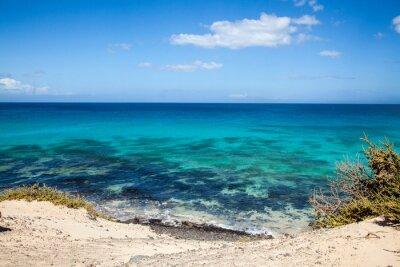 Carta da parati Grandes Playas de Corralejo a Fuerteventura, Isole Canarie, Spagna