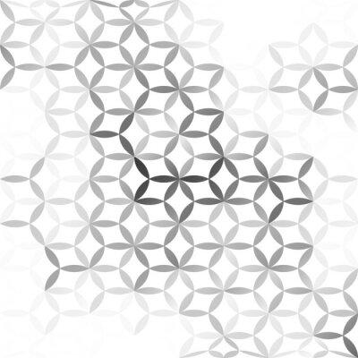 Carta da parati Gray White mesh Background, Creative Design Templates