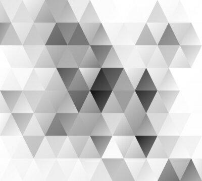 Carta da parati Grigio griglia mosaico, per Design creativi
