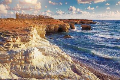 Carta da parati Grotte marine. Cipro