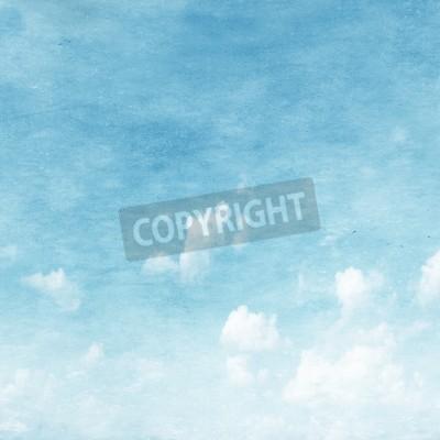 Carta da parati Grunge immagine di cielo blu.