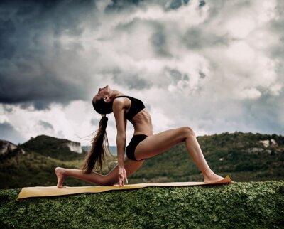 Carta da parati Guerriero yoga pongono