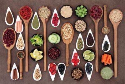 Carta da parati Health Food Sampler