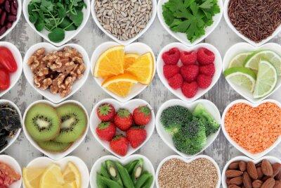Carta da parati Healthy Heart Food