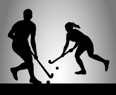 Carta da parati Hockey - 35